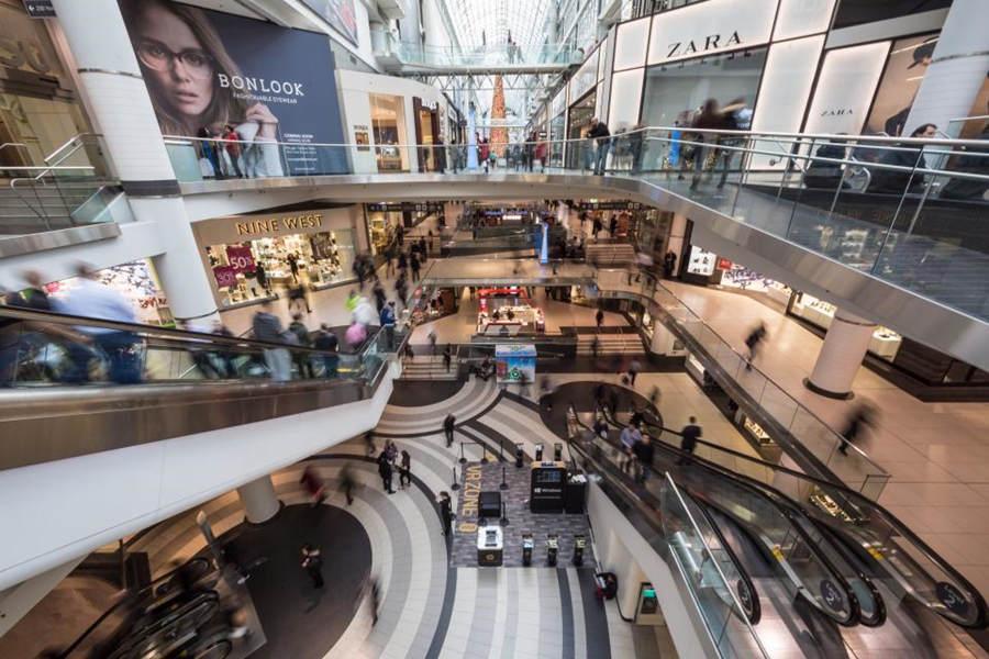 2020世界最大的十个购物中心